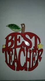 Best teacher hanging decoration