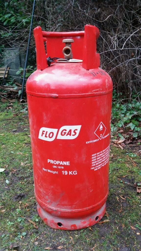 Flogas 19kg propane empty gas bottle save on a gas bottle deposit  19kg   |  in Poynton, Manchester | Gumtree