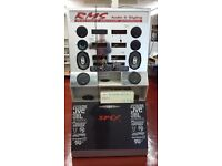 CAR AUDIO ICE DISPLAY STAND, 6 STERIO & 6 SPEAKER POSITIONS