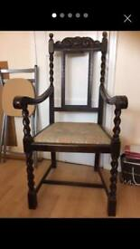 REDUCED 2 antique chairs