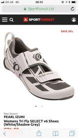 Pearl Izumi Bike Shoes Women's (size 7) Brand New £70.00