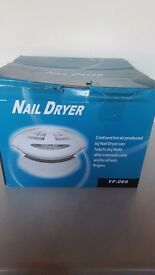2 in1 nail dryer for hands & feet