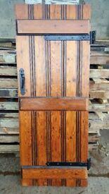 Board and bead ledge doors