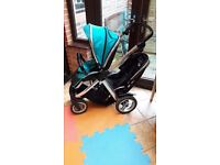 Oyster Max Double Tandem Pushchair