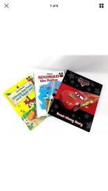Disney Kids Books-3 Original Disney Bed Time Story's-Hard Cover Illustrated Book
