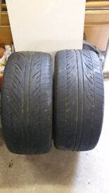 Accelera Alpha 235 45 17 tyres x 2