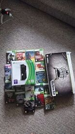 Xbox 360 250gb with accessories