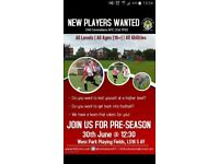 Old Centralians AFC Looking for Quality Players
