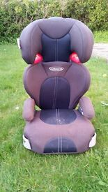 Graco high-backed booster seat