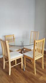 Chairs (not the table) £8 each