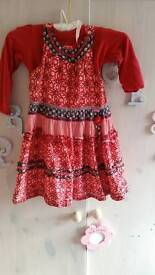 Cakewalk dress and top size 4 years