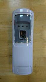 Remote Control Automatic Air Freshener Dispenser Perfume Aerosol Wall Mounted USED
