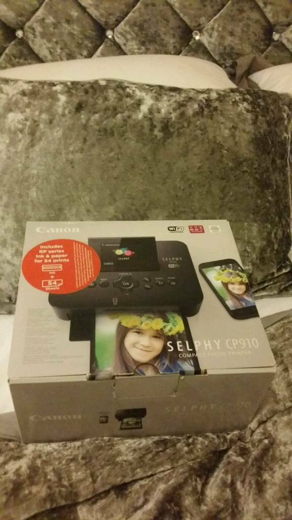 Brand new in box canon selphy photo phone printer