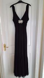 Black formal dress size 10-12