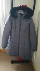 Ladies Gray Centigrade coat