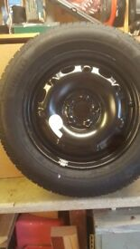 Steel wheel with Pirelli tyre ( Brand New)