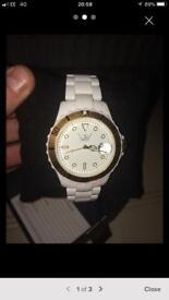 White LTD watch for sale!