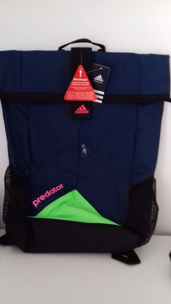 Brand New Adidas Predator Backpack