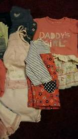 Batch of baby girl's clothes, age 0-3 months