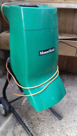 Mountfield Garden Shredder, with Manual