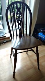 4 Antique chairs, very good condition, £80.00