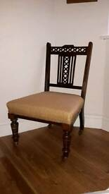 Victorian/Edwardia nursing chair