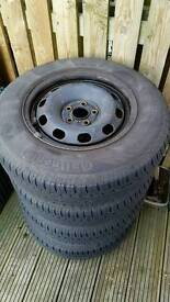 Mk4 Golf wheels and tyres