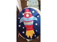 Rocket Space Rug