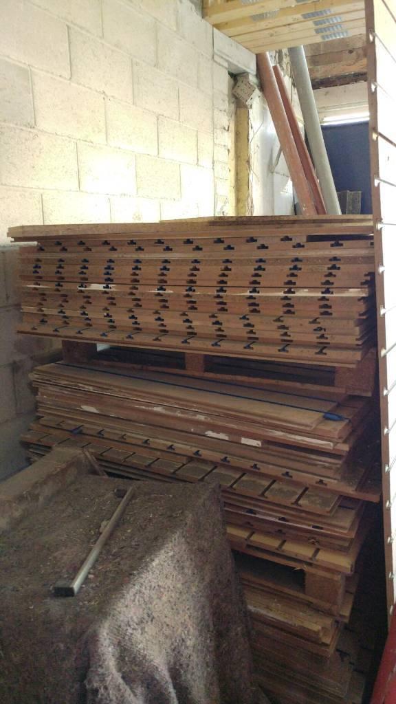 Slatwall boards