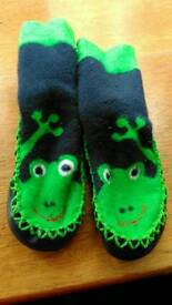 Jojo Maman Bebe slippers 12-18mths