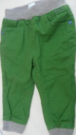 Ted Baker Baby Boy Green Trousers Age 12-18 months. Excellent condition