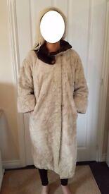 Ladies Genuine Vintage Fur Coat