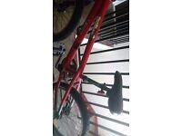 Trek 3700 frame and mongoose mini motivator bmx