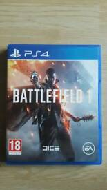Battlefield 1 PS4. Immaculate condition.