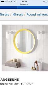 Brand new round mirror