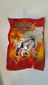 Sealed Solgaleo figure. Pokemon Sun 3DS pre-order bonus.