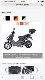 50cc Viper Scooter moped (Brand new)