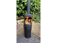 Gas Bottle Woodburner / Log Burner / Chiminea /Patio heater