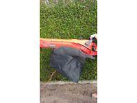 Flymo leaf blower / garden vac