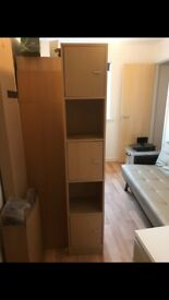 Tall wood unit - free to collect