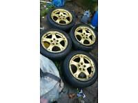 Subaru impreza alloy wheels 16 inch
