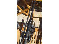Shimano reels and greys rods