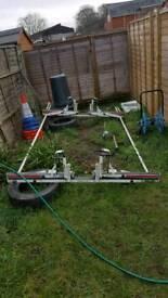 Ladder roof rack (Ergo) fittings for Vauxhall Vivaro