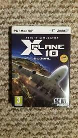 X Plane 10 (Global 64 Bit) PC Flight Simulator