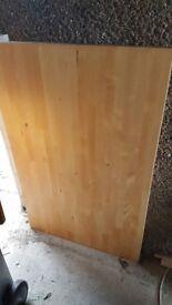 Ikea table oak effect