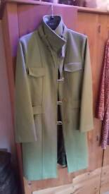Green womens coat