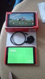 Hudl 2 tablet complete with box and original charger