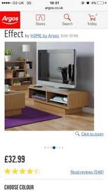 Argos Tv Unit £20