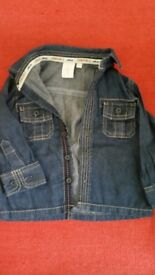Jasper Conran Denim Shirt 9-12m
