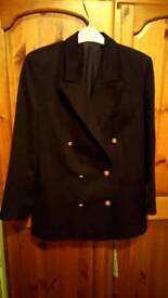 Pure wool navy jacket 12